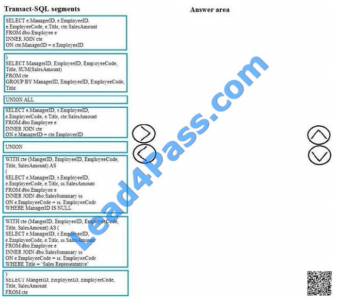 lead4pass 70-761 exam question q10-2