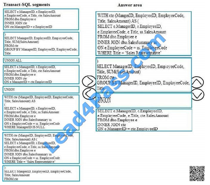 lead4pass 70-761 exam question q10-3