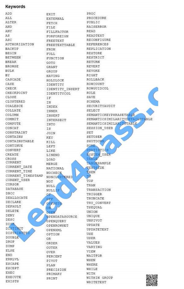 lead4pass 70-761 exam question q11-1