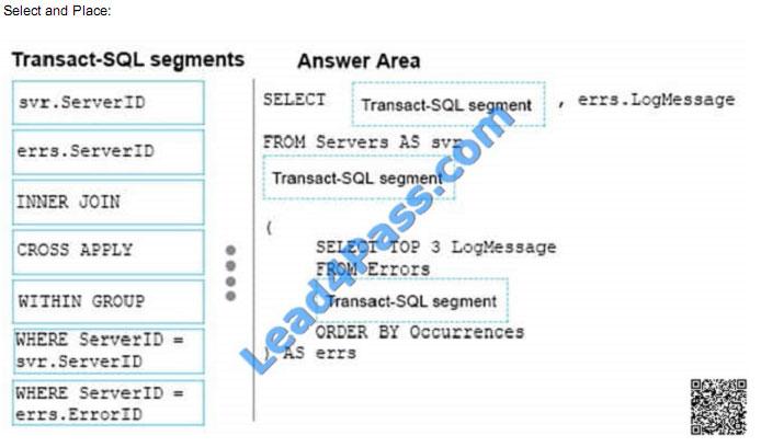 lead4pass 70-761 exam question q17-1