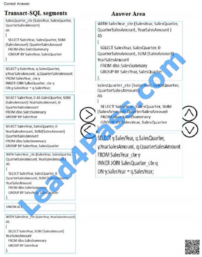 lead4pass 70-761 exam question q18-3