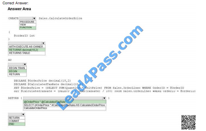 lead4pass 70-761 exam question q2-4