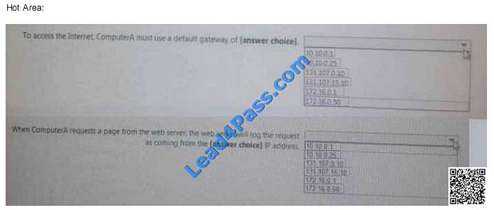 lead4pass 70-743 exam question q31-1