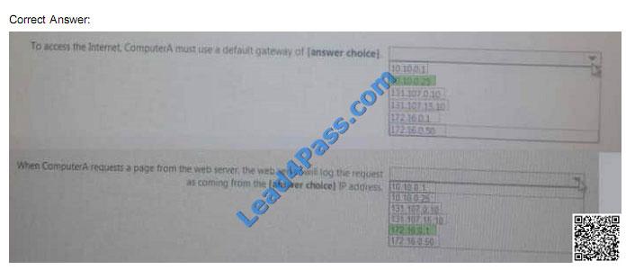 lead4pass 70-743 exam question q31-2