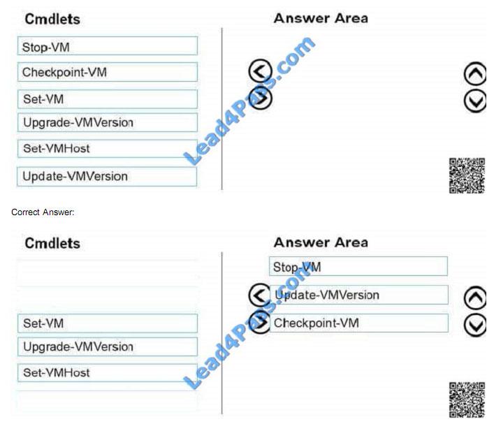 lead4pass 70-743 exam question q37