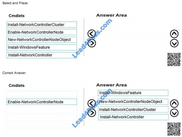 lead4pass 70-743 exam question q9